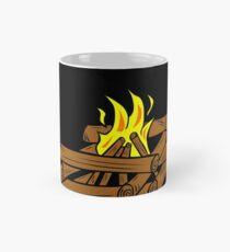 camping fire Mug