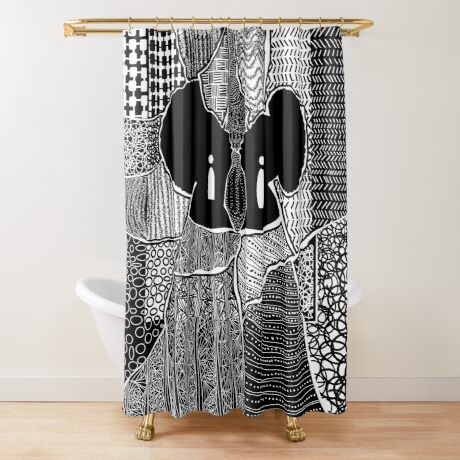 Myself and I Shower Curtain