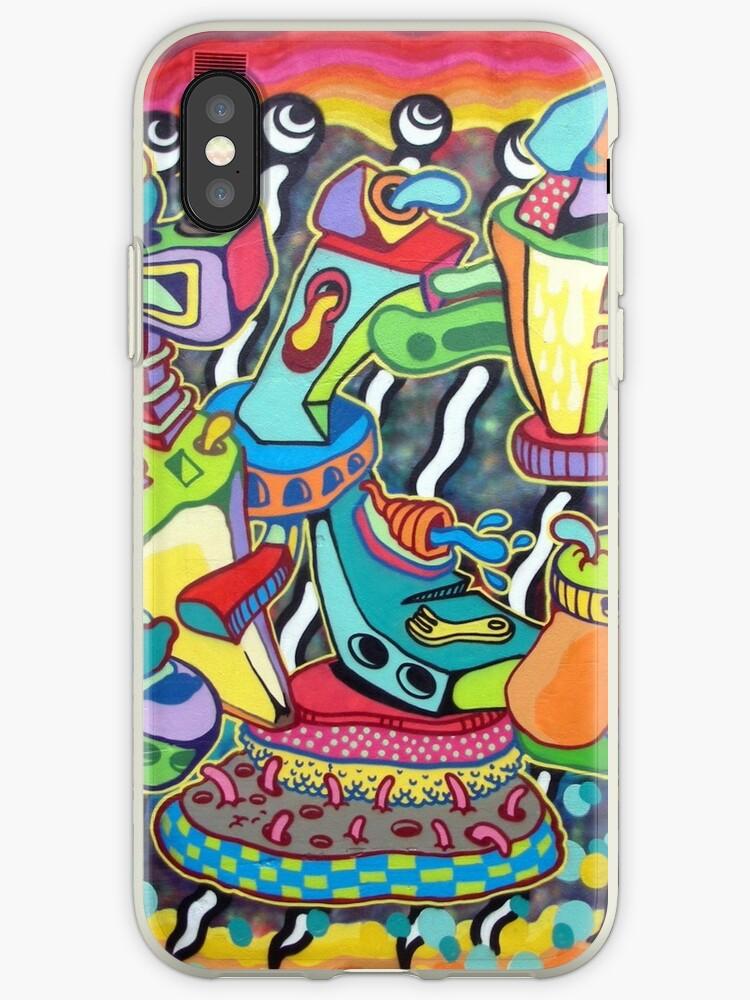 Abstract Art Graffiti decor design by JamesPodStore
