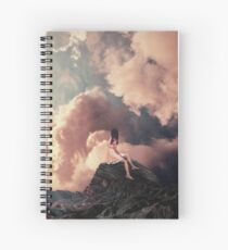 You came from the Clouds Spiral Notebook