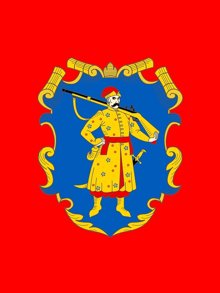 Zaporozhian Host Coat of Arms by planetterra