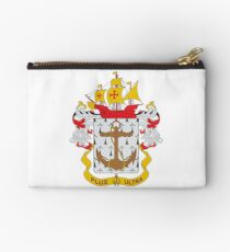 Coat of arms of the Colombian Navy Zipper Pouch