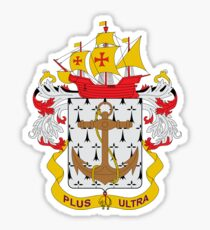 Coat of arms of the Colombian Navy Sticker