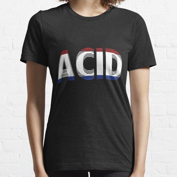 Smiley acide T-shirt essentiel