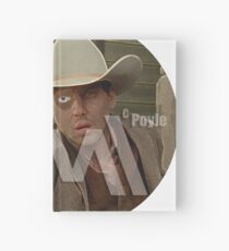 McPoyle in Black:  Its Always Sunny in Westworld  Hardcover Journal
