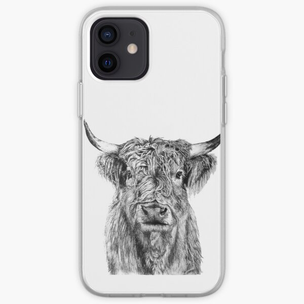 Scottish Highland Cow iPhone Soft Case