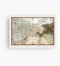 Exalted Map of Creation Canvas Print