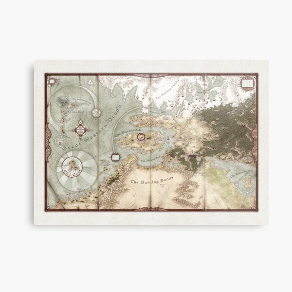 Exalted Map of Creation Metal Print