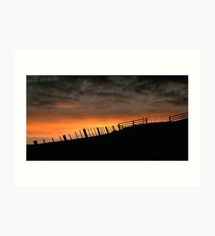 Barrabool Hills Skyline Art Print