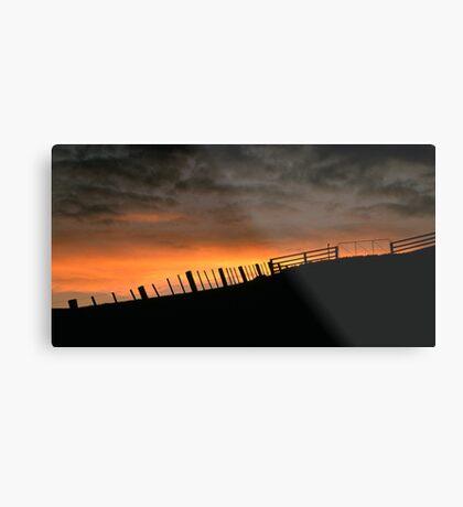 Barrabool Hills Skyline Metal Print