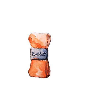 Ballet ribbon by Kuhtina