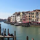Grand Canal, Venice, Italy by Christopher Clark