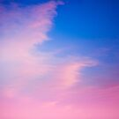 Candy floss sky by Marie Carr