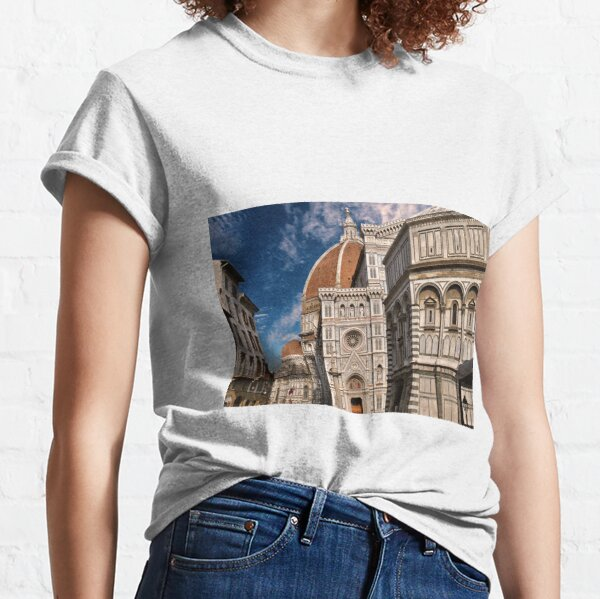 The cathedral of Florence Classic T-Shirt