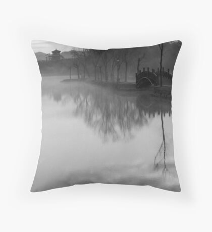 Imperial Reflections Throw Pillow