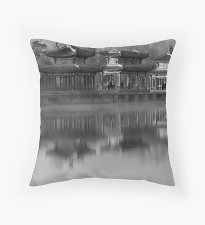 Imperial Resort Throw Pillow