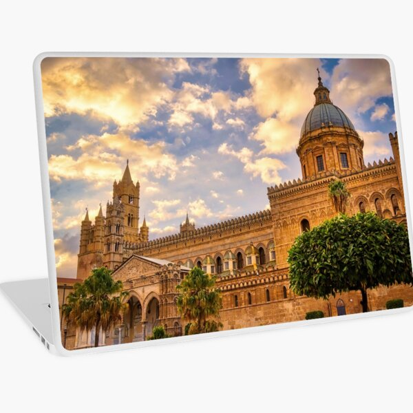 The cathedral of Palermo Laptop Skin