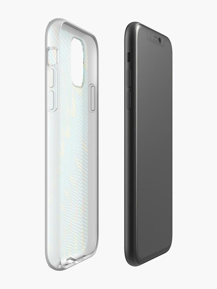 coque or iphone x | Coque iPhone «les fenêtres», par JLHDesign