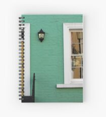 Green House in Chelsea Spiral Notebook