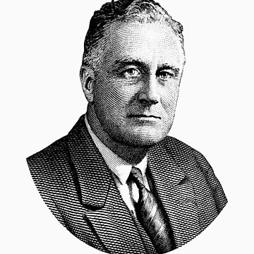 Presidente Franklin Roosevelt Graphic de warishellstore