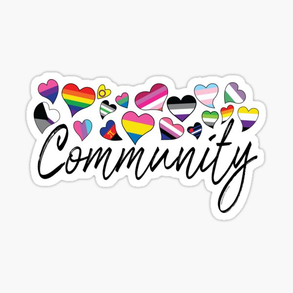Community - LGBTQA  Sticker