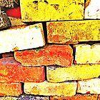 A Pile Of Old Bricks by Fara