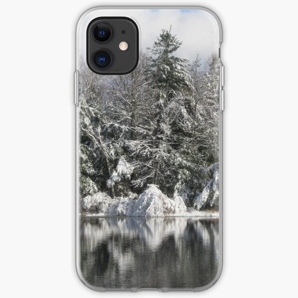 Snowy Reflection iPhone Soft Case