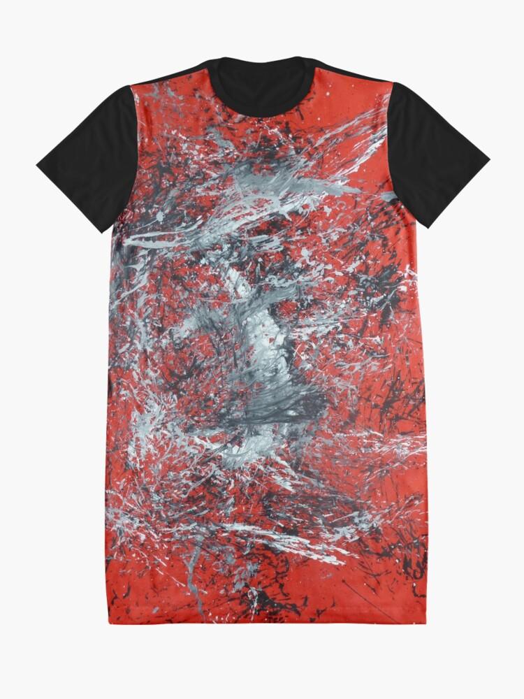 Robe t-shirt ''Tumulte': autre vue