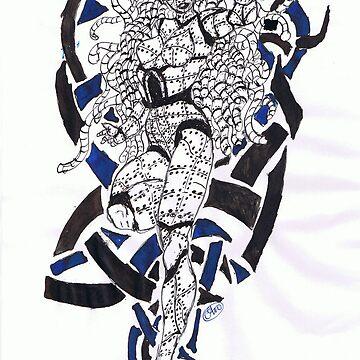 steel lady by mindwalker13
