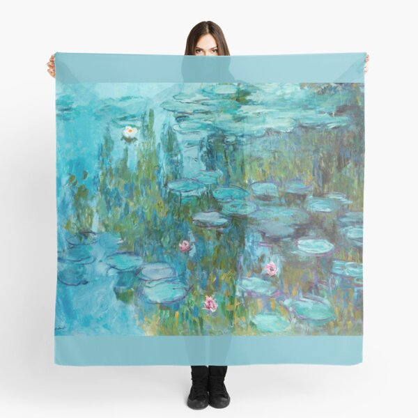 Claude Monet - Water Lilies - Nympheas Scarf