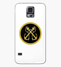 Colombian Navy Sleeve Insignia Case/Skin for Samsung Galaxy