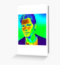 The Big Bad Wolf - Klaus Mikaelson - Joseph Morgan - The Originals - The Vampire Diaries  Greeting Card