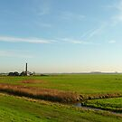 The old pumping station in the polder by jchanders