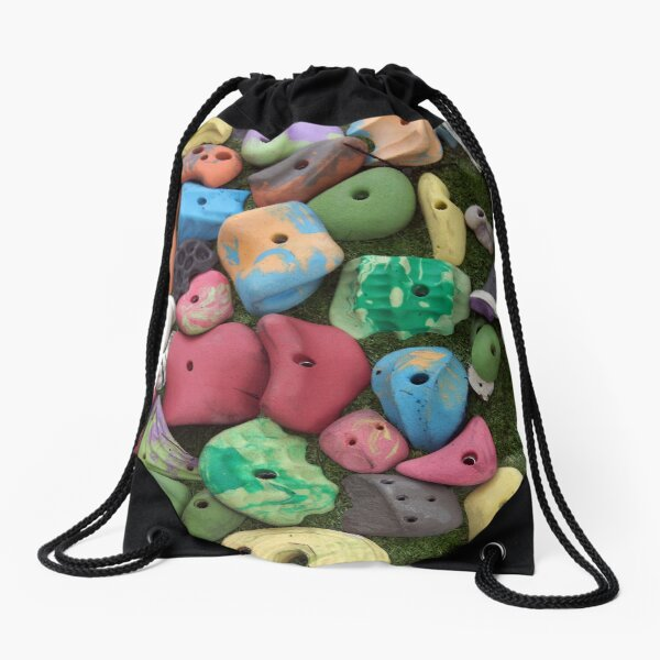 Climbing Gear  Drawstring Bag