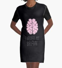 Funny Head Injury Concussion Get Well  Gift Graphic T-Shirt Dress