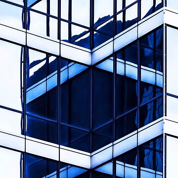 Blue cities. Clarity concept by Masha-Gr
