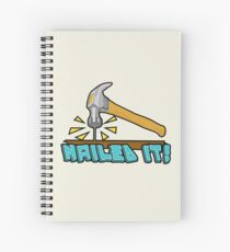 Nailed It! Spiral Notebook