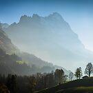 Eiger in autumn, Grindelwald, Switzerland by Mark Howells-Mead