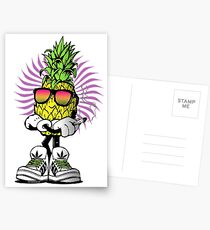 High Rolling Pineapple  Postcards