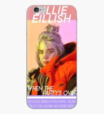 Billie Eillish - When The Party's Over  iPhone Case