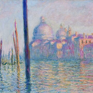 Venice! Claude Monet's Grand Canal  by NewNomads