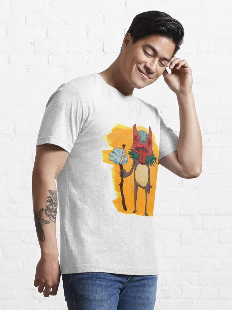 Alternate view of Tongue Tiki Essential T-Shirt