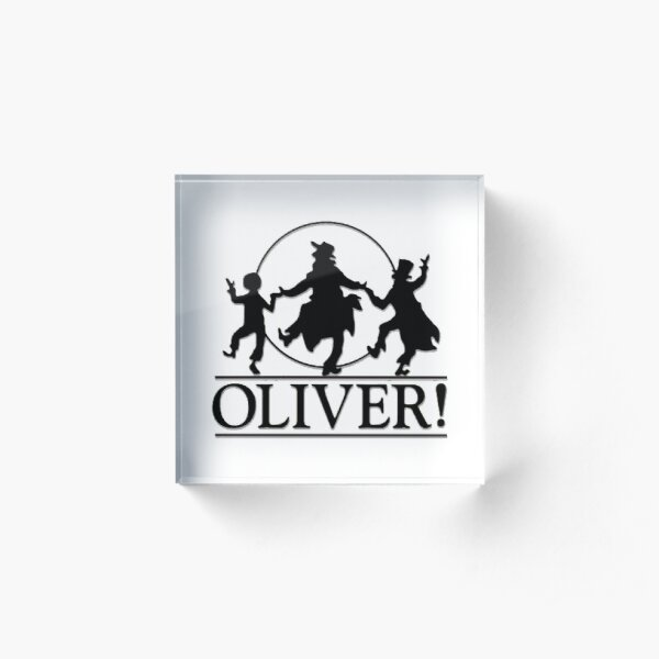 Oliver the Musical Acrylic Block