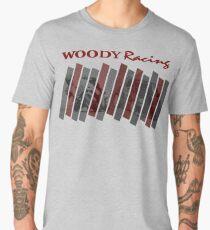 Woody Racing Bike + Car Men's Premium T-Shirt