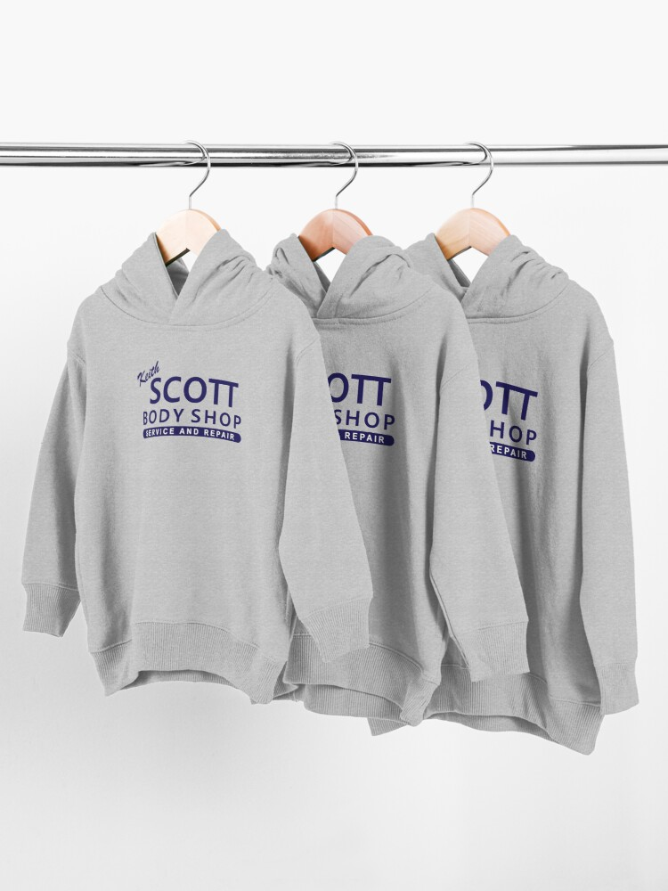 Alternate view of One Tree Hill Keith Scott Toddler Pullover Hoodie