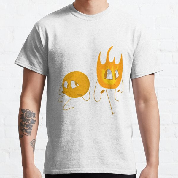 Firey and Coiny - Bfb Classic T-Shirt