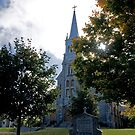 Saint Finnan's Catherdral, Alexandria. 1833. by Mike Oxley