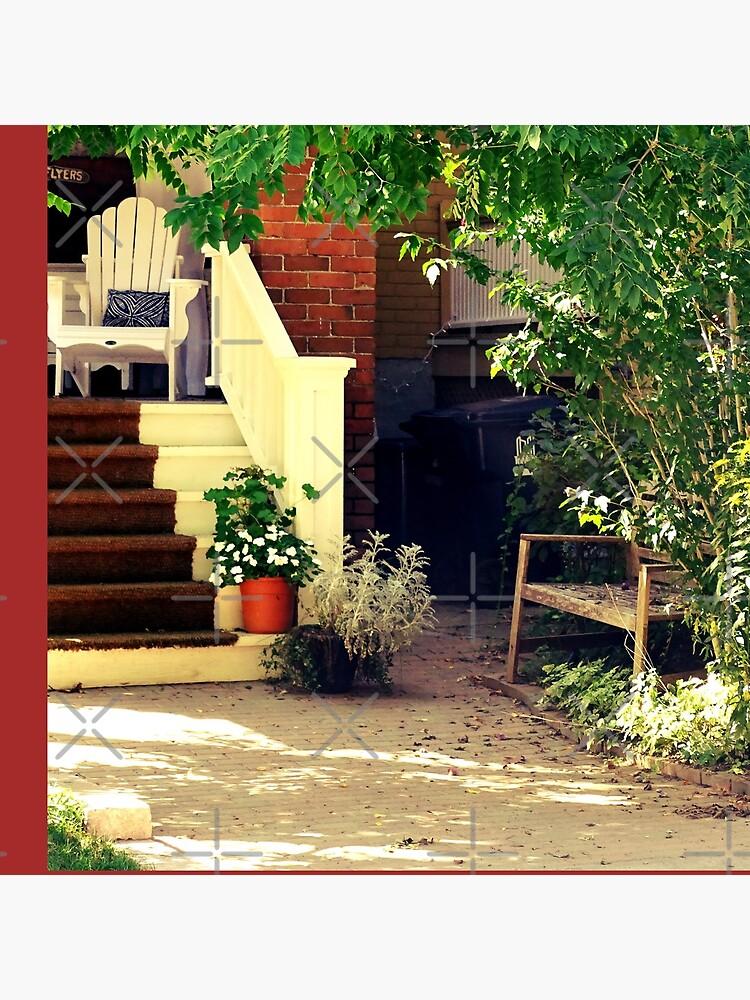 A white porch  by PicsByMi
