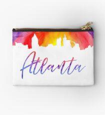 Atlanta Cityscape - Reverse Silhouette Studio Pouch
