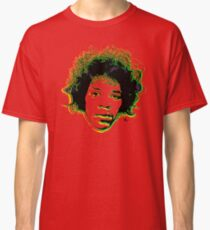 Psychedelic guitar god Classic T-Shirt